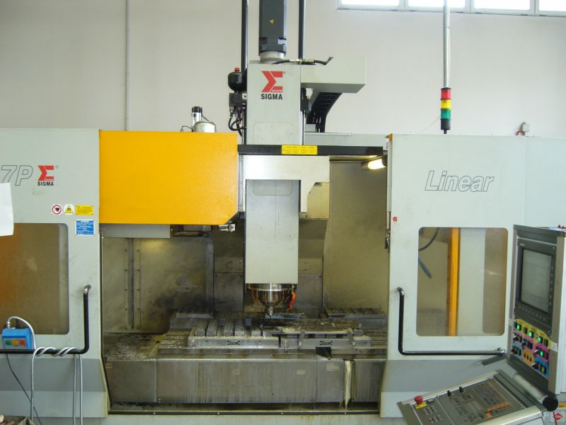 LEADER 7P with pallet table 800x1000 4-axis milling